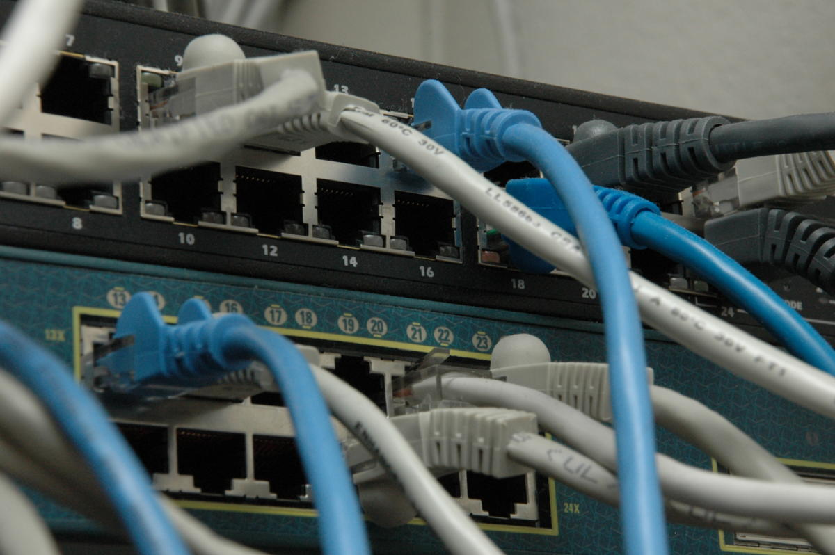 network switches ethernet cables