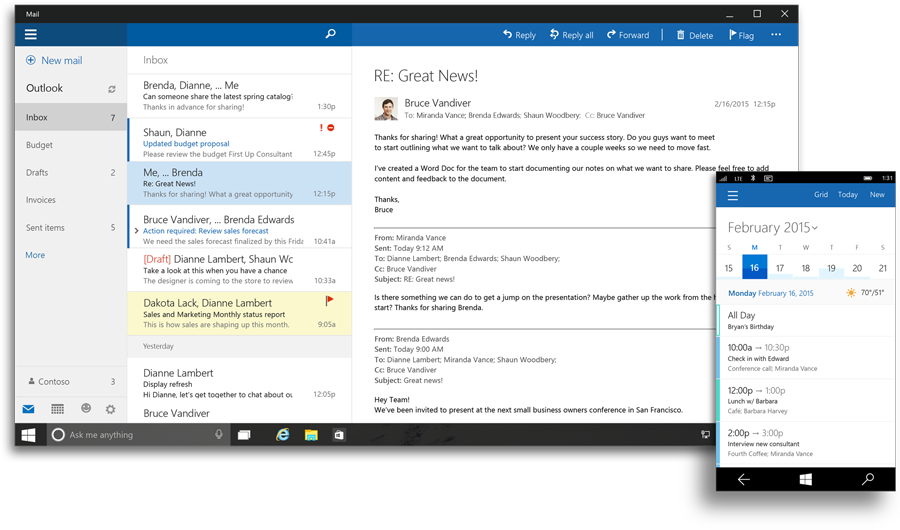office suite for windows 10
