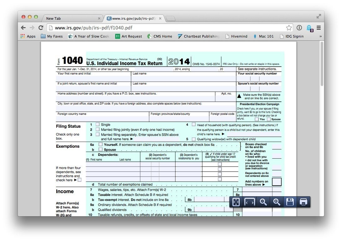 Tax Return Pdf