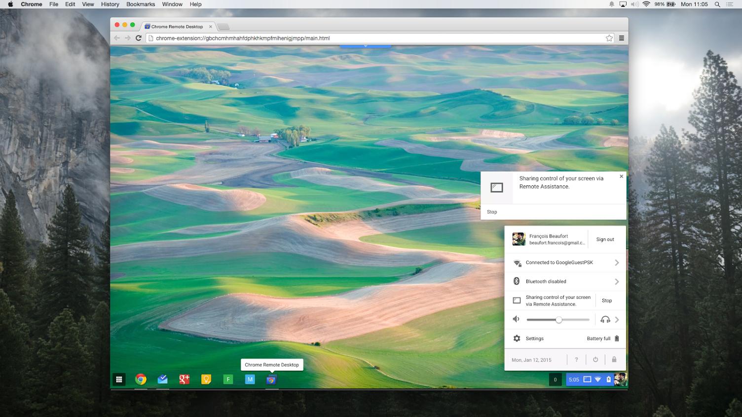 Google's bringing Remote Desktop sharing to Chrome OS | PCWorld