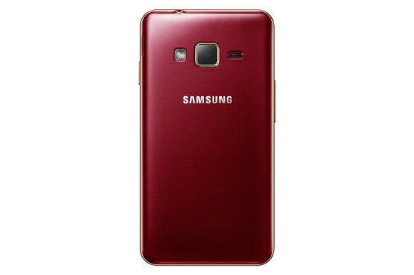 samsung z1 back red