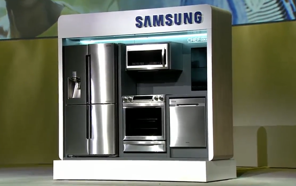 samsung gets practical with 2015 appliances techhive. Black Bedroom Furniture Sets. Home Design Ideas