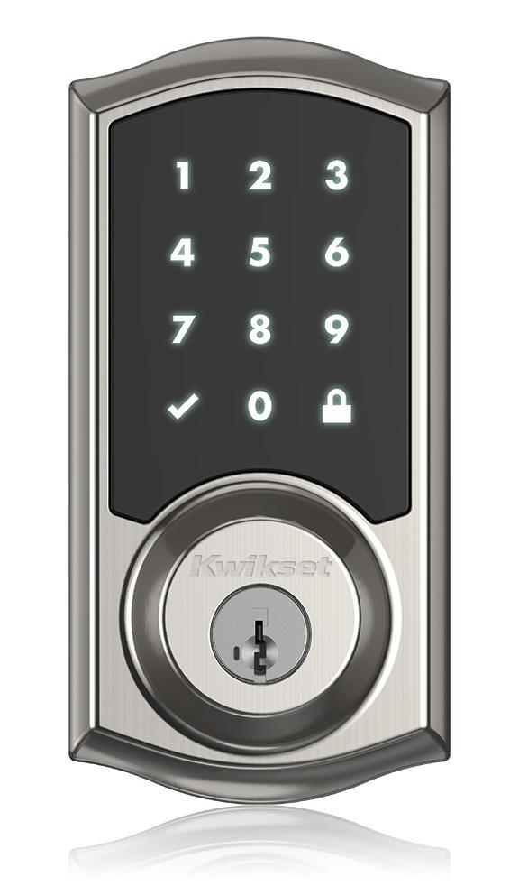 Kwikset Introduces Smartcode 916 Touchscreen Deadbolt That