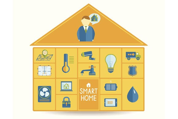 the 6 best and 4 worst smart home products we saw at ces 2015 techhive. Black Bedroom Furniture Sets. Home Design Ideas