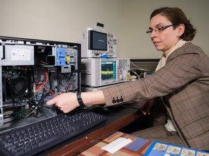 Georgia Tech researcher Alenka Zajic