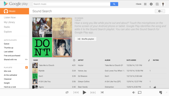 How to find songs by sound with Google Now's sound search