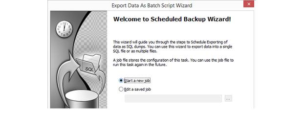 SQLyog Batch Script wizard.