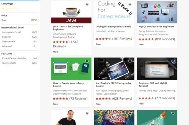 Udemy is offering over 1,000 free online courses | ITworld