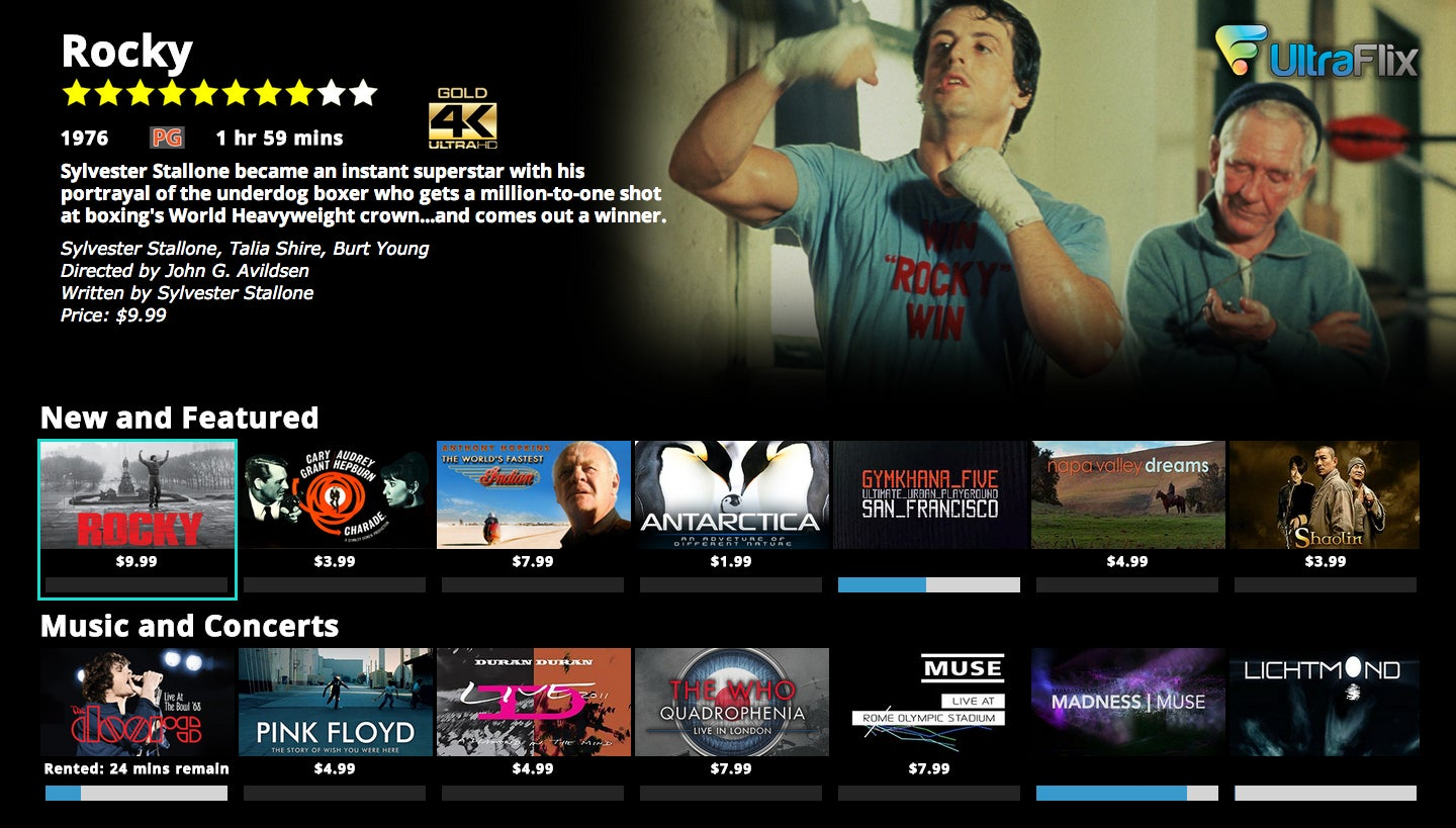 Ultraflix wants to become the Netflix of the 4K generation | TechHive