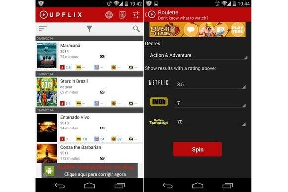 Upflix, app gratuita per iOs e Android