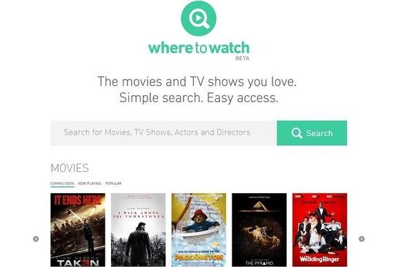 WhereToWatch, motore di ricerca video