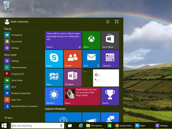 windows 10 boot to desktop