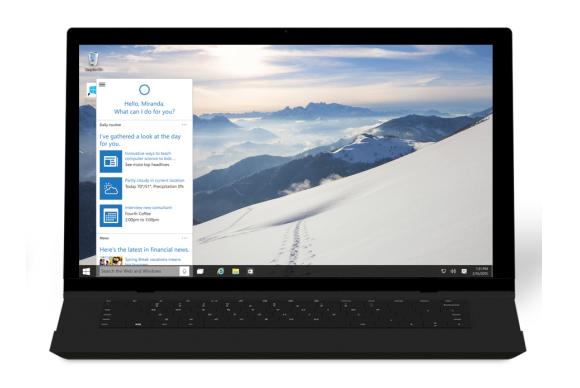 Windows10 cortana