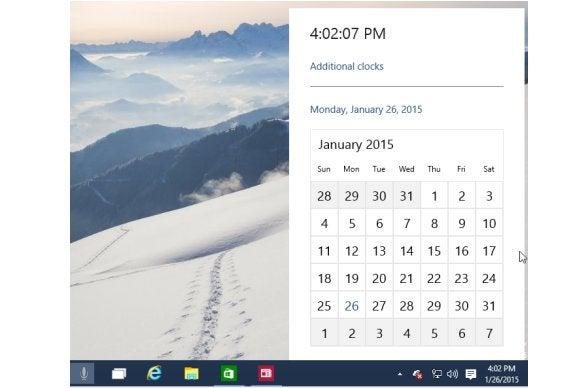 windows10 new calendar