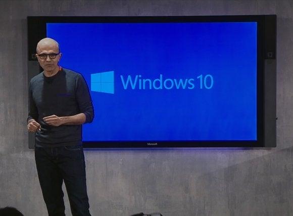 windows10 satya nadella