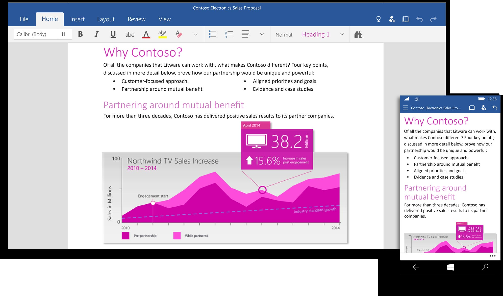 microsoft announces office 2016 suite touch enabled office for