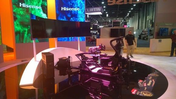 CES 2015 Hisense