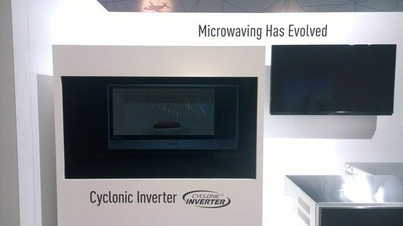 CES 2015 Panasonic microwave