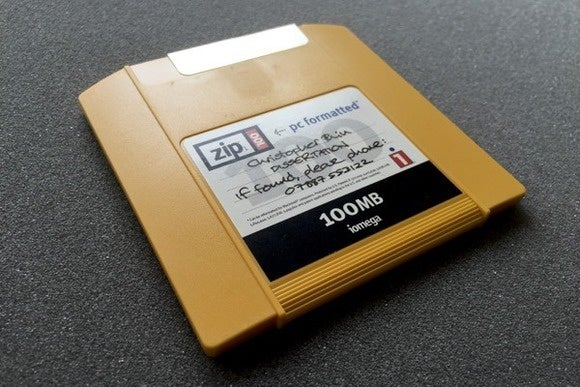 zip disk primary alternate