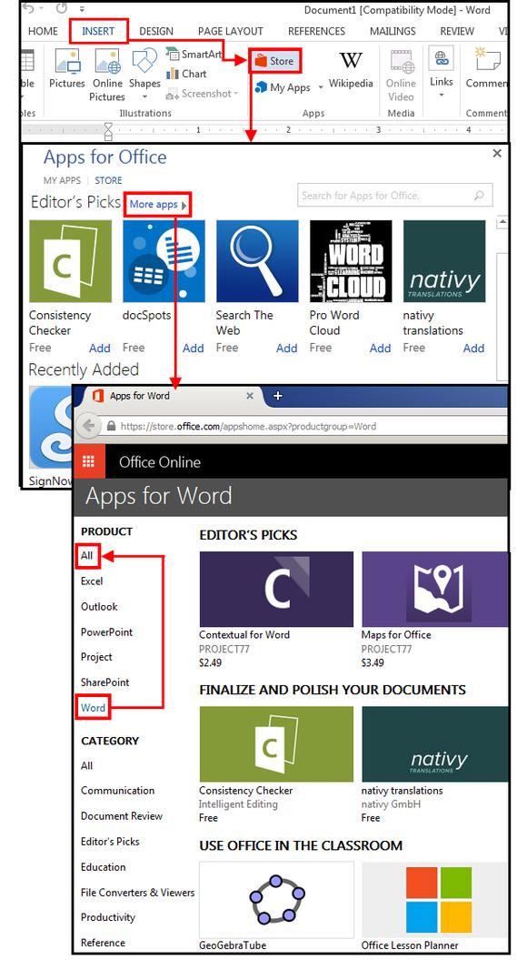 01 ms word app store