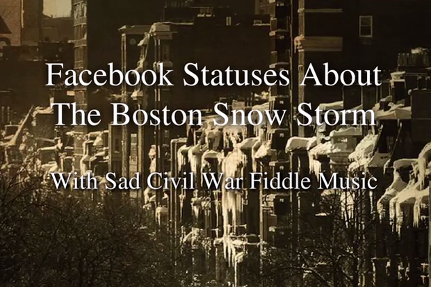 Funniest video about Boston winter -- e-vah -- gets booted