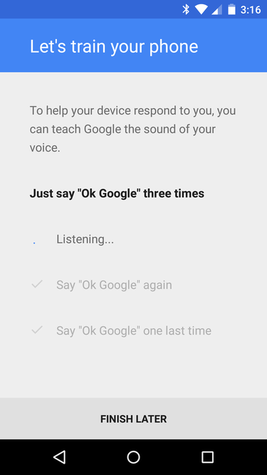 Tip No. 6: Android Voice Commands