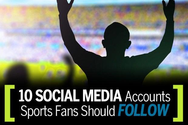 10 social media accounts sports fans should follow