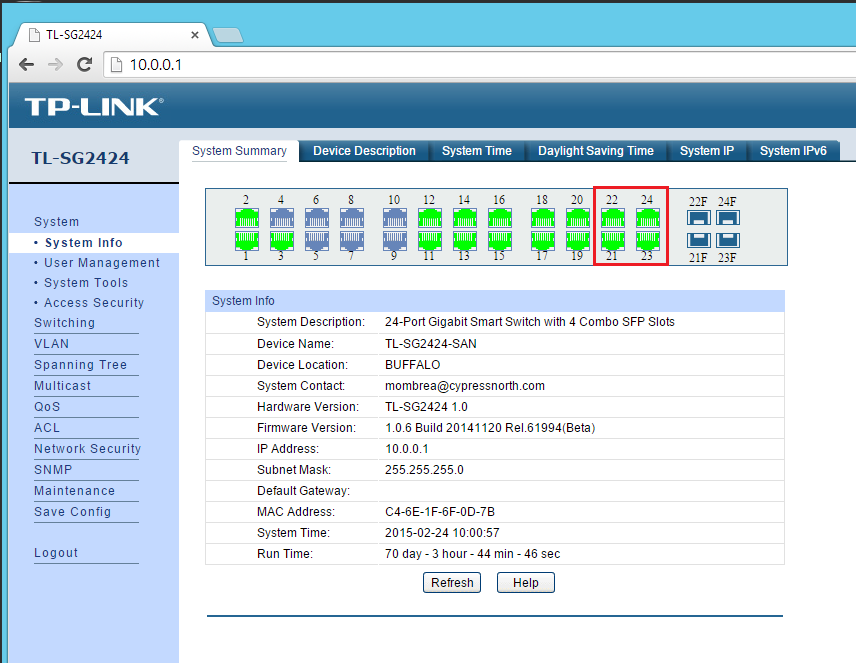 Configuring multiple LACP groups on a TP-LINK switch  Computerworld