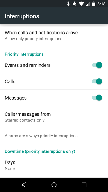 Tip No. 11: Prioritize notifications