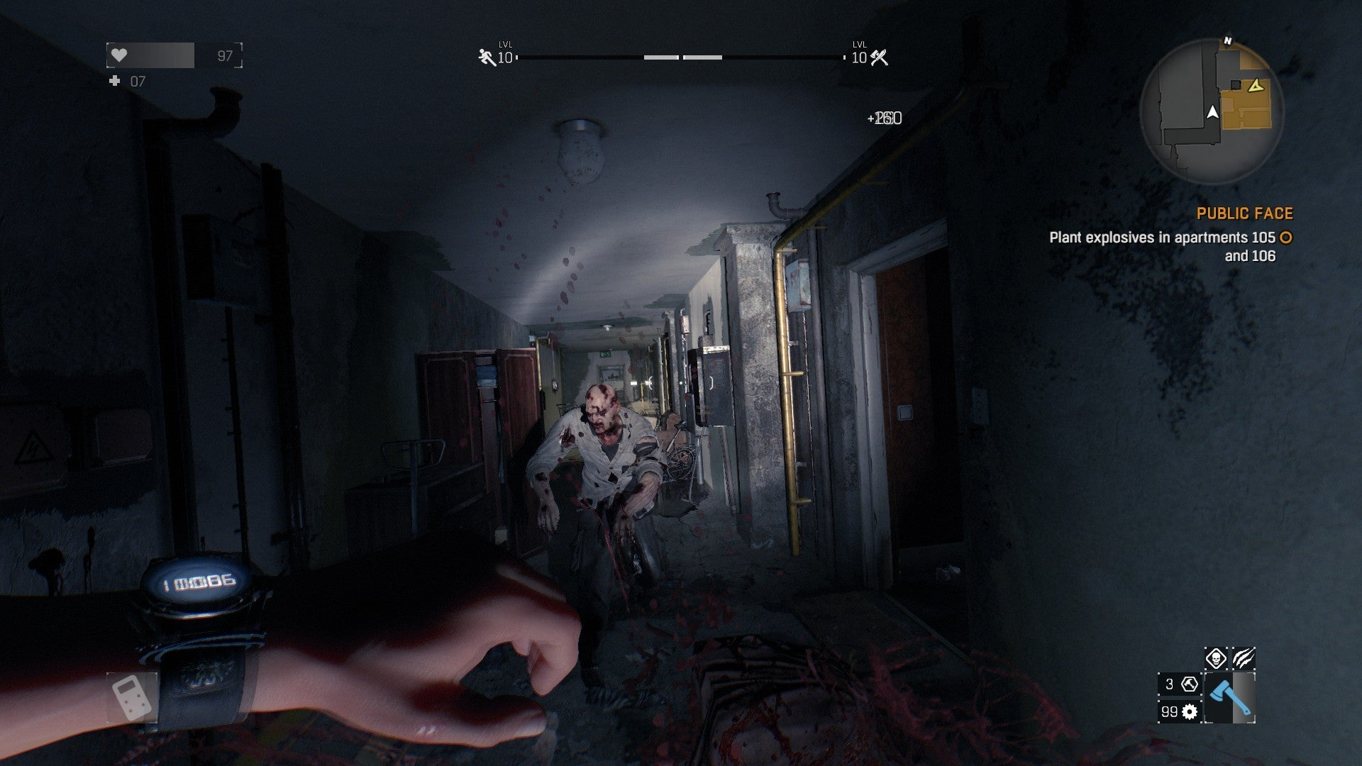 dying light zombie game