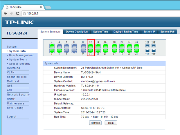 Configuring multiple LACP groups on a TP-LINK switch | ITworld
