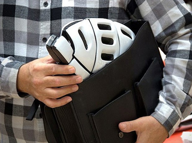 8 foldable bike helmet