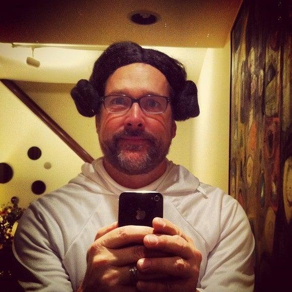 Princess Leia smartphone
