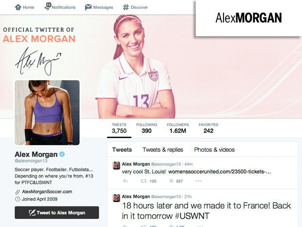 8 alex morgan