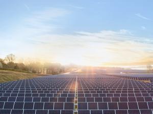 Apple's solar plant in Maiden, N.C.