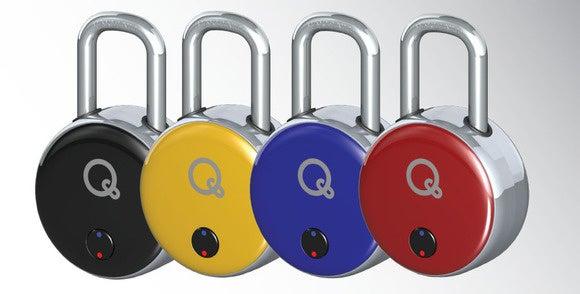 Bluetooth and NFC padlock
