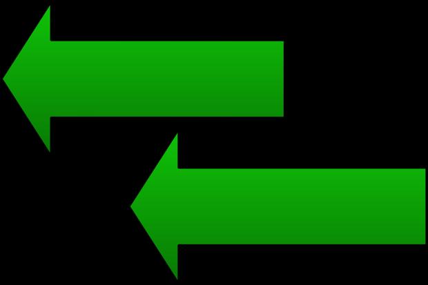 arrows left parallel