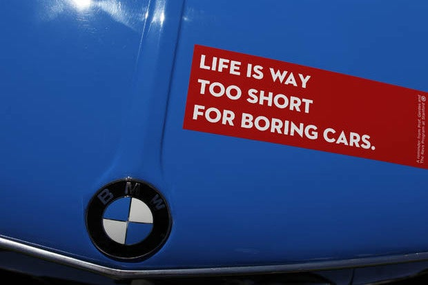 bmw life is too short 620x465