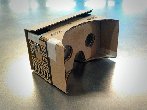 DIY Google Cardboard viewer