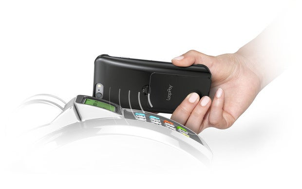 LoopPay can be read by a magnetic stripe payment terminal