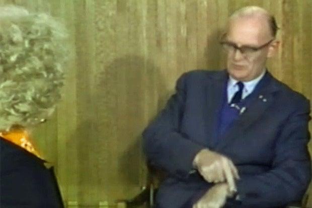 Arthur C. Clarke 1976 footage wristwatch