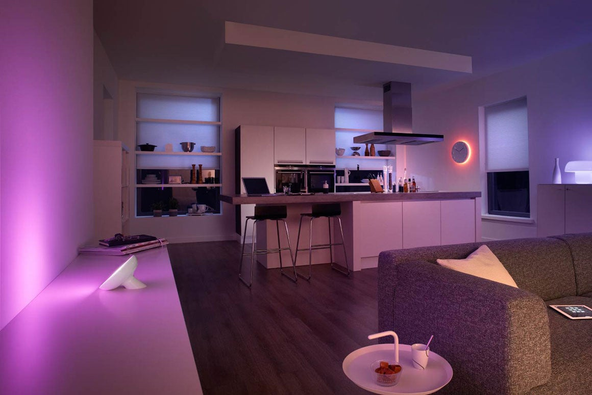 How To Optimize Your Home Lighting Design Based On Color - Cool lights for your bedroom