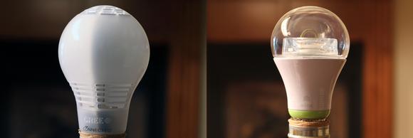 Cree and GE Link LED light bulbs