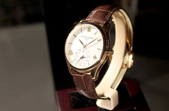 horological smartwatch frederique constant