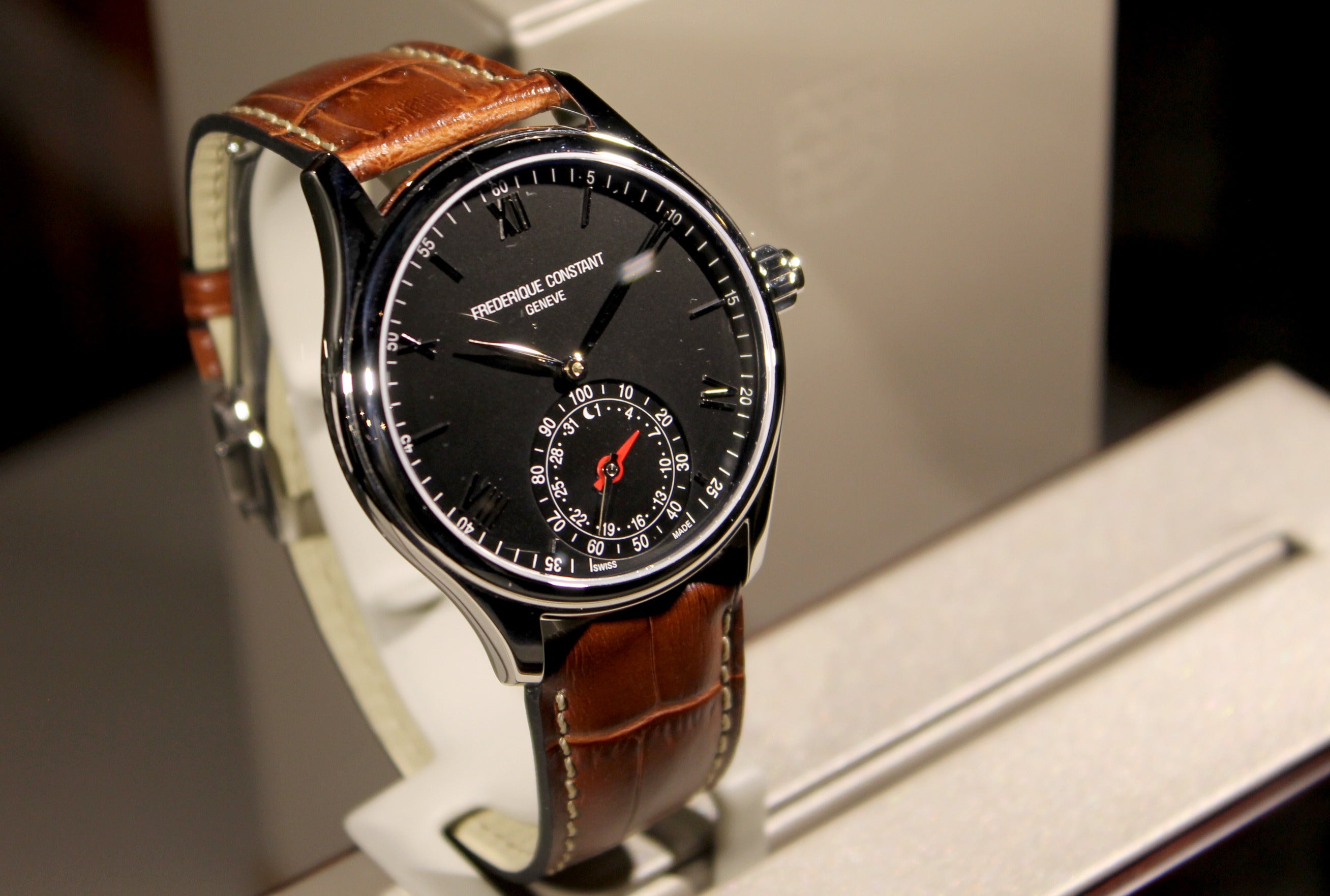 Swiss watches Frederik Constant (Frederique Constant): review, features, reviews 58