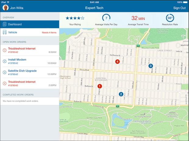 IBM's Expert Tech app for iOS