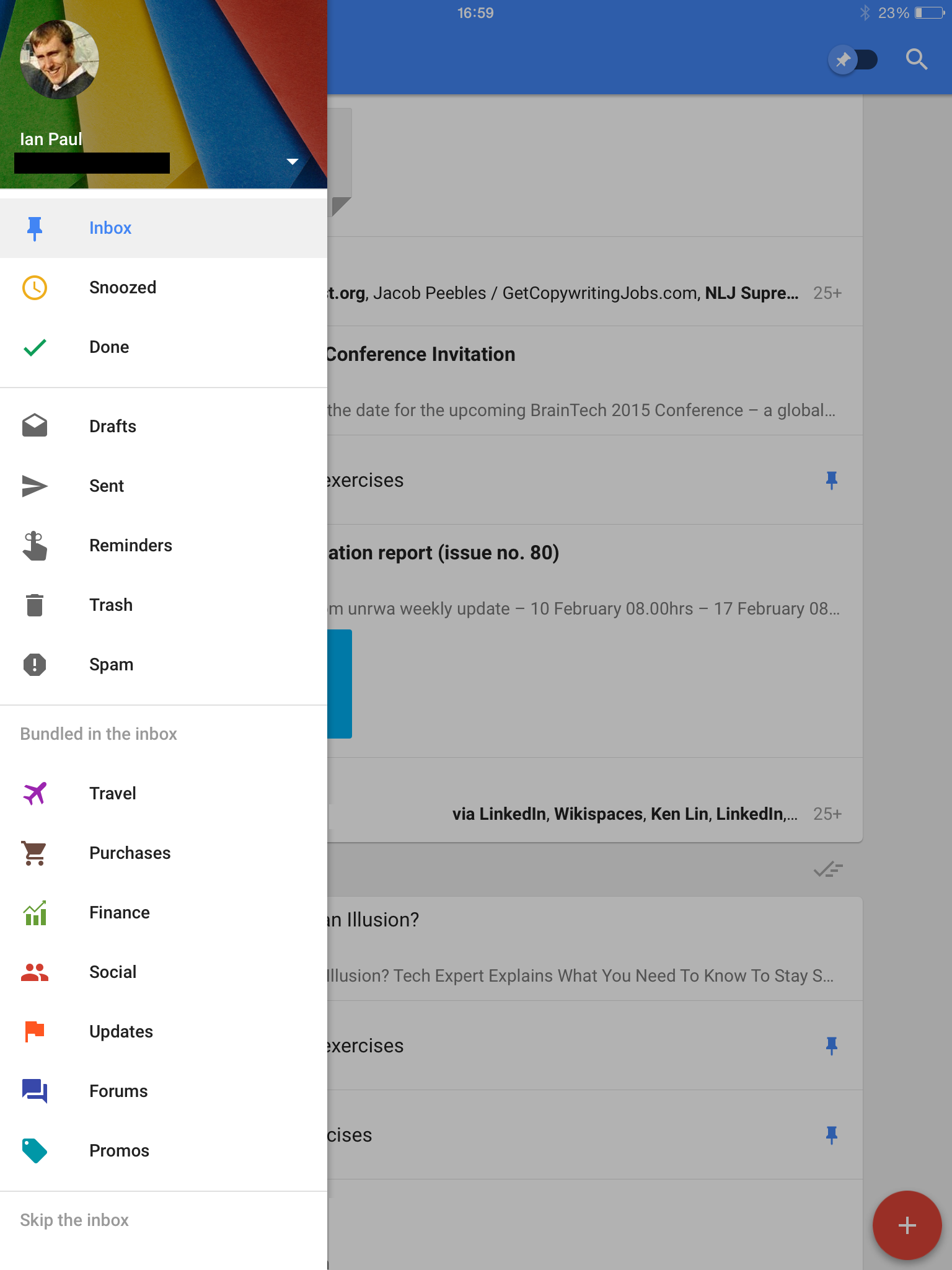 Inbox by Gmail heads to the iPad, bringing yet another
