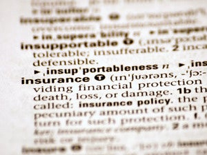 insurance dictionary