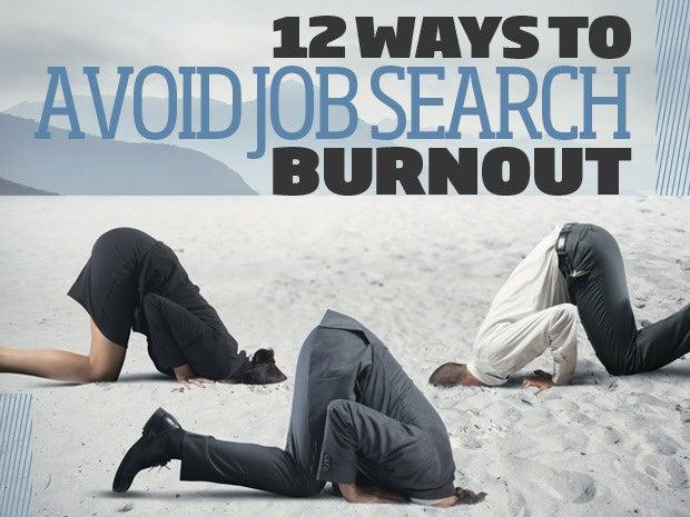 Avoid Job Search Burnout