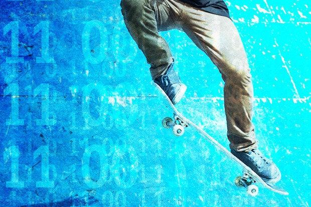 ios apps for dev skateboard code skater data binary